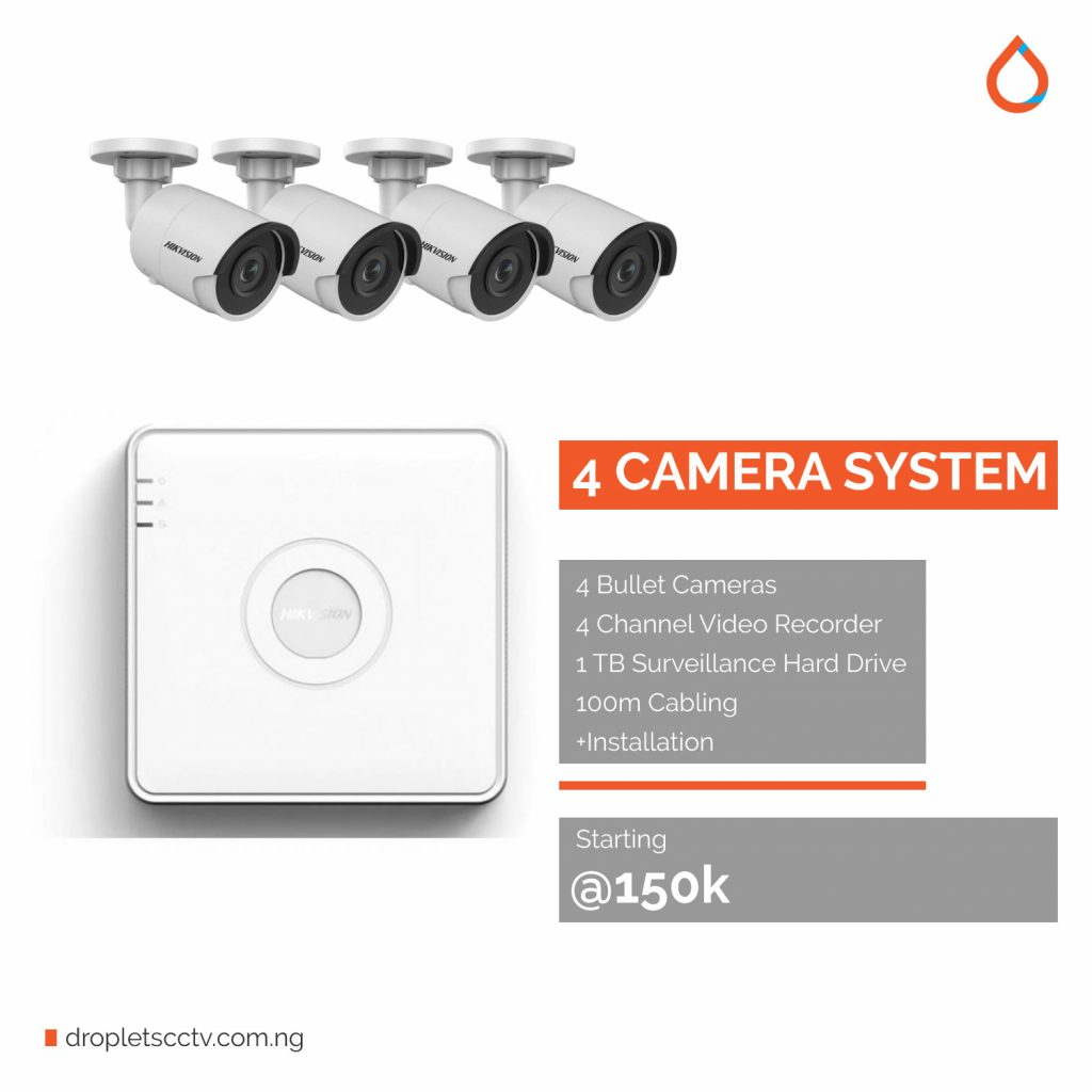 Droplets-CCTV-Pricing-and-cost-in-Port-Harcourt-4-channel-system CCTV installation in port harcourt