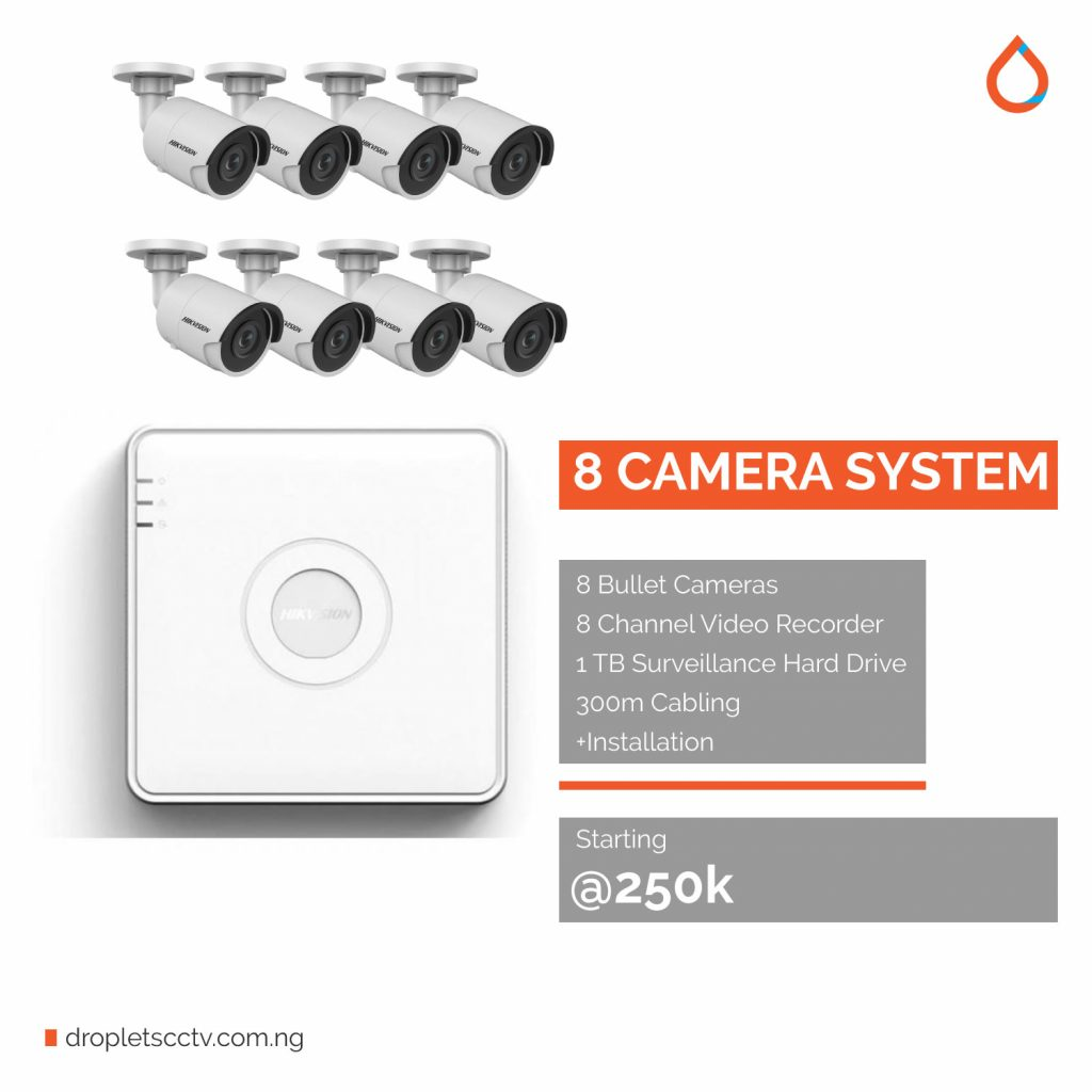 Droplets-CCTV-Pricing-and-cost-in-Port-Harcourt-8-channel-system cctv installation in port harcourt