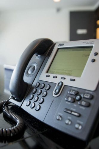 Intercom-Voice-Over-IP-Video-Phone-VOIP-Installation-in-Port-Harcourt---Droplets-CCTV-GRA-office-phone installation